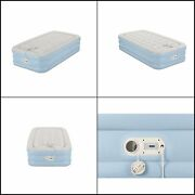Aerobed Air Mattress With Built In Pump Air Bed W/ One-touch Comfort Pump, Twin