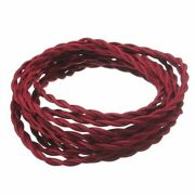 2 Core 2x0.75mm Electrical Braided Lamp Cord Pendant / Hanging Light Cable Wire