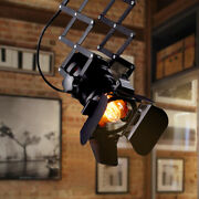 Industrial Ceiling Pendant Light Adjustable Track Lamp Porch Photography Fixture
