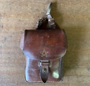 World War Ii Japanese Army General Figure Bag Map Case Antiques m