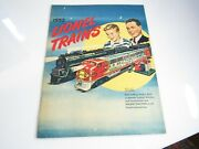 1952 Lionel Trains Catalog Puffing Smoke Excellent