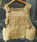 Msa Paraclete Personal Body Armor Plate Carrier Coyote Xl R20d