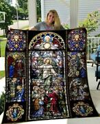 Best Gift For Christian Jesus Is My Life Quilt Blanket
