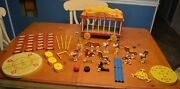 Fisher Price Circus Wagon 900 Complete No Missing Parts Monkey W/ Tail + Gift