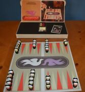 Fisher Price Play Family Little People Lucky Dog Custom Backgammon Board Game