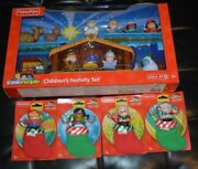 Fisher Price Little People Only At Target Children's Nativity Set And Stocking Set