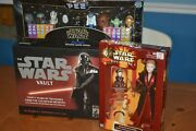 Star Wars Deal The Vault Book Sansweet Wal-mart Pez And K.b. Toys Queen Amidala