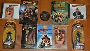 Indiana Jones Pack Lot Deal Micro Machines, Books, Cd's And Mickey Mouse Baseball