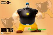 Zcwo 60cm Popeye Brutus Jubmo Series Statue Collectible Figure Model In Stock