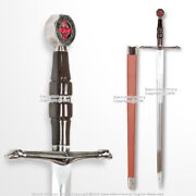 Kingdom Of Heaven Medieval Crusader Knight Sword Of Ibelin With Scabbard Larp