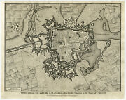 Antique Print-fort-ypres-ieper-anonymous-1727
