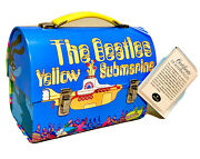 New With Tags. The Beatles Yellow Submarine 6.5 Tin Lunchbox By Hallmark