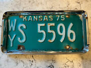 Old Fashioned License Plate