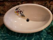 Vintage Kohler Mickey And Minnie Sink From Playful As A Mouse Collection