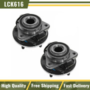 Timken Front Wheel Hub And Bearing Pair Set For 98-05 Blazer Jimmy 2wd 2x4 Rwd Abs