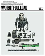 Threea Toys Warbot Full Load War Pill Robot 1/6 Action Figure Model In Stock