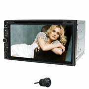 For Sony Lens Bluetooth Car Stereo Radio Usb In-dash Dvd Player +backup Camera