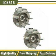 Front Wheel Hub And Bearing Pair Timken Sp580312 For 07-10 Chevy Truck