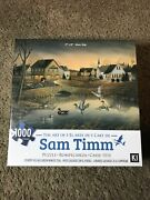 Sam Timm - Puzzle Country Village Green Winged Teal - 1000 Piece - 2019