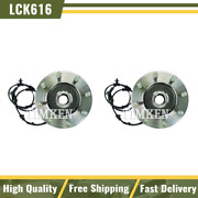Timken Wheel Bearing And Hub Assembly Front Pair Set For 12-14 Ram 2500 3500 4wd