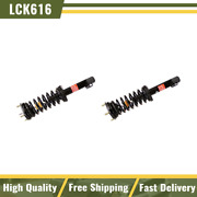 Monroe Quick Strut Spring Front Lh And Rh Pair Set For Commander Grand Cherokee