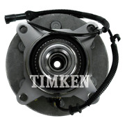 Timken Sp550207 Front Wheel Hub And Bearing Pair For Ford F150 Truck 4wd Mark Lt