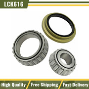 Timken Front Inner Outer Wheel Bearing And Race With Seal Lh And Rh For E450 E550