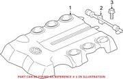 Genuine Oem Engine Cover For Toyota 1125931310