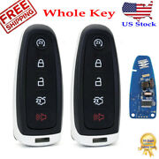 2 Replacement For Ford Explorer Smart Remote Key Fob 11 2012 2013 2014 2015 2016