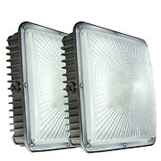 Led Waterproof Canopy Gas Station Light Fixture45w Outdoor Highbay Ceiling Lamp