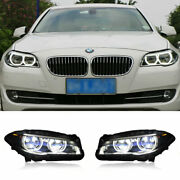 For Bmw 5 Series F18 F10 Led Headlights Projector Drl Replace Oem Halogen 11-17