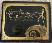 The Nightmare Before Christmas Special Edition Exclusive Dvd Poem By Tim Burton