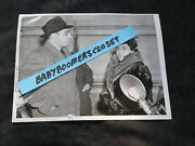 Press Photo Gangster Al Capone Brother And Mother Visit Al Terminal Island 1939