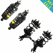 Monroe Quick Strut And Spring Front And Rear Kit Set Of 4 For Honda Civic