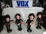 Beatle Complete Forever Collection 8 Dolls W/ Stage Stands Tags Applause 1987