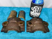 Crank Bearing Caps And Inserts For Ct4 Stover Hit Miss Gas Engine Part 14ct4