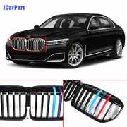 For Bmw 7 Series G11 G12 G13 2020 Front Bumper Grille Grill Single Slat Tricolor