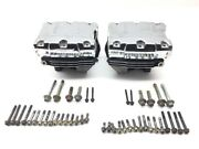 Harley Front Rear Cylinder Head Set From 2000 Heritage Softail Flstc X