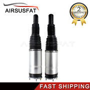 Pair Front R+l Air Suspension Shock For Land Rover Range Rover L405 W/ Edc 13-17