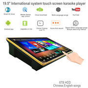 Cloud Karaoke Player 6tb Hdd 130k Chinese,english Songs,19.5'' Touch Screen