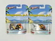 Set Of 2 Hot Wheels Magnum P.i. Volkswagen Sunagon And Island Hopper Collectible