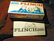 1963 Flinch Card Game In Box All Original Complete Cards Instruction Sheet 1963