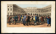 Antique Print-dr. Syntax-liverpool-town Hall-rowlandson-combe-1812