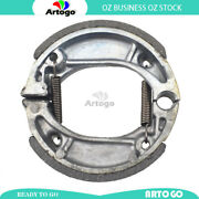 Motorcycle Brake Shoes Front Or Rear For Honda Nj 50 Mdy/m2/md2 Gyro-x 2000-2002
