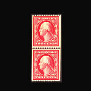 Us Stamp Regular Issues Mint Og And H Vf S386 Line Pair Lower Stamp Is Never Hi