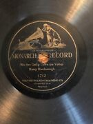 Victor Monarch 1712- Harry Macdonough We Are Going Down The Valley Rare 78