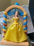 Disney Park Sketchbook Ornament Belle Fairytale Moments Beauty And The Beast Nwt