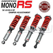 Godspeed Mrs1428-b Monors Coilovers Kit For Infiniti Q60 Convertible Rwd 2013-15