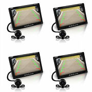 Pyle Plcm7700 Rearview Car Backup Camera And Monitor Reverse Assist Kit 4 Pack