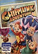 The Chipmunk Adventure Dvd 2014 Brand New With Slip Cover